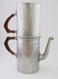 Vintage Espresso Pot Coffee Maker Rex 5 Cup Aluminum by FairyLynne, $25.00