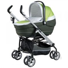 The Navetta XL bassinet on the Pliko Switch chassis