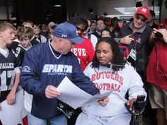 Tampa Bay Buccaneers signed former Rutgers DT Eric LeGrand, who was paralyzed during the Navy game in 2010. Last year, two USA Football-affiliated leagues banded together to help LeGrand's cause. Read more at usafootball.com.