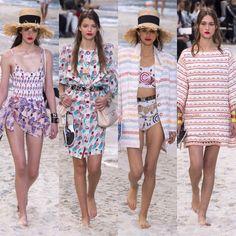 Chanel – Ready to Wear – Passarelando Fashion Week 2018, Chanel, Ready To Wear, Cover Up, Beach, How To Wear, Dresses, Beach Scenery, Fashion Show