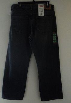 Levi's 550 Boy's Jeans Size 16 Husky Felaxed Fit Sit Below Waist Tapered Leg…