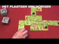 Carcassonne online speluitleg - YouTube