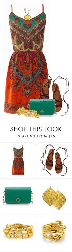 """""""Untitled #1268"""" by autumnsbaby ❤ liked on Polyvore featuring Scotch & Soda, Tory Burch, Julie Tuton Jewelry, Philippe Audibert and Citrine by the Stones"""