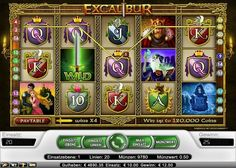 Excalibur im Test (Net Ent) - Casino Bonus Test