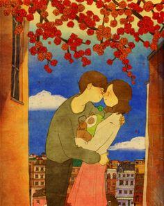 ※※What The True Love is ...※※ 설명이 필요없는 그림이네요. 보기만 해도 따뜻해 지는.... 54 Il...