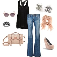 cute spring outfit - good thing k own most of thisthis