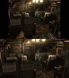 Bio Hazard 0 HD Remastered -en haut Game Cube - en Bas HD Remastered