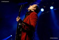 Daniel - he is awesome!    Daniel Håkansson, guitarist, sitarist and vocalist of Diablo Swing Orchestra.