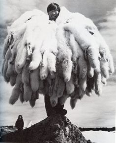 """Fur"" hunter-- looks like Inuit"