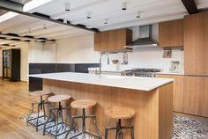 LOFT N, City of London, 2017 - Nomade Architettura Interior design, Selina Bertola London City, Interior Design Kitchen, Loft, Industrial, House Design, Contemporary, House Styles, Building, Wooden Kitchens