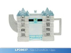 Tower Bridge Teapot, For Ornamental Use Only. #Teapot #Collectible #Decor #Gift #gosstudio .★ We recommend Gift Shop: http://www.zazzle.com/vintagestylestudio ★