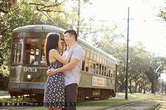 NOLA engagement photo