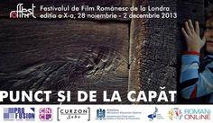Festival de film romanesc la Londra, 28 noiembrie - 2 decembrie