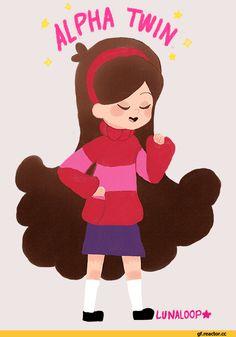 Mabel Pines  C B Gravity Falls