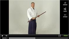 Aikido Sword Fighting: Ken-Gi One - Learn Aikido Ken-Gi One, or sword form one, from a fifth-degree Aikido black belt and martial arts hall of fame inductee in this free martial arts training video series.