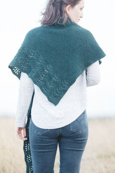 holt designed by paulina popiolek / from the summer ebbs collection / in quince & co. owl, color hemlock