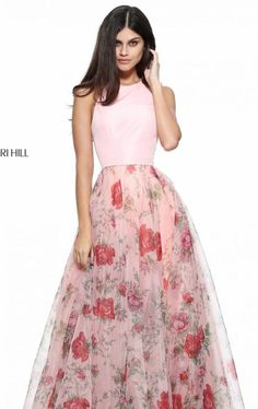 Shop long formal dresses and formal evening gowns at Simply Dresses. Women's formal dresses, long evening gowns, floor-length affordable evening dresses, and special-occasion formal dresses. Floral Prom Dresses, Sherri Hill Prom Dresses, Prom Dresses 2017, Pretty Dresses, Beautiful Dresses, Formal Dresses, Pink Dress, Dress Prom, Dance Dresses