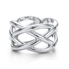 Tiffany  Co Knots Ring