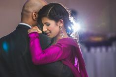 45a indian wedding bride and groom first dance