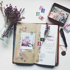 Spring to Life. #TRAVELERSnotebook #TRAVELERScompany #トラベラーズノート #愛麗佳 #instaxsp3