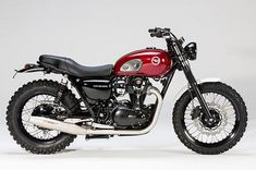 Kawasaki W800 SC Six Days 2012 by LSL