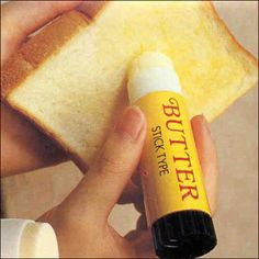 BUTTER STICK! I wonder if this makes buttering toast easier or if it is really just a big pain in the ass