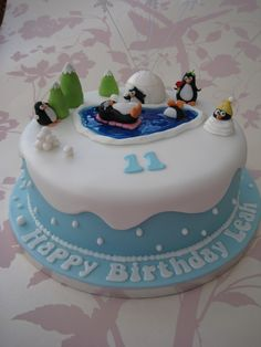 "Penguin birthday cake in ""Children's Birthday Cakes"" — Photo 2 of 2"