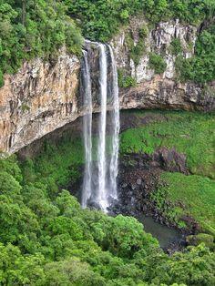 Cascata do Caracol, Parque do Caracol em Canela, RS.