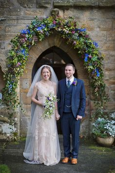 A Jane Austen inspired wedding with a bride wearing a bespoke gown by Jane Bourvis.  Photography by Mark Tattersall.
