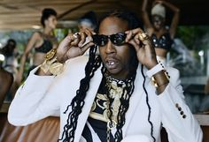 2 Chainz wearing Versace Vintage available @ J3 Optical