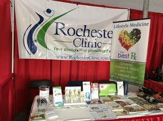Meet us at Rochester Healthy Living Fair by farmers market this morning.