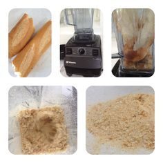 Make your own breadcrumbs in a VitaMix #breadcrumbs #ginghamcottage