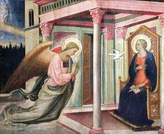 Giovanni di Francesco Toscani (Firenze 1372 - 1430) - Annunciazione - 1425 circa - Washington (D.C.), Georgetown University, Art Collection