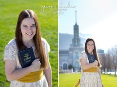 LDS Missionary Poses; LDS Missionary Portraits