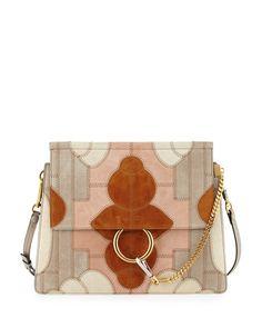 designer handbags chloe - L0N3H Chloe Jane Small Suede & Python Shoulder Bag, Light Blue ...