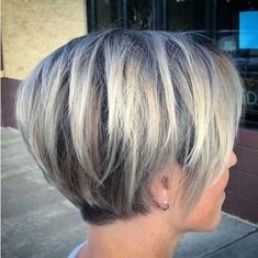 "Hair Beauty - Short Layered Haircuts for Fine Hair ""Layered Pixie Bob For Fine Hair So glad I found more. I'm tired of working against my hair! Bob Hairstyles 2018, Bob Hairstyles For Fine Hair, Short Gray Hairstyles, Natural Hairstyles, Bobs For Fine Hair, Fringe Hairstyles, Medium Hairstyles, Short Hair For Chubby Faces, Grey Hair Styles"