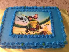 Epic Movie Cake.
