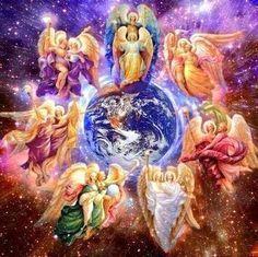 668 Mejores Imágenes De Angeles Y Arcangeles Angels And Archangels