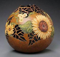 ~ Gourd Gallery 2 ~ marilynsunderlandstudio.com