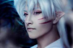 Lord Sesshomaru - Anna and Nick(PrinceAri and Luno_O) Sesshomaru Cosplay Photo - Cure WorldCosplay
