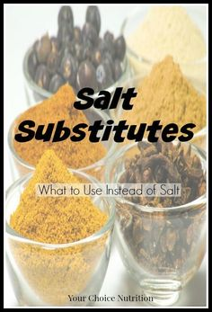 Looking to lower your salt intake, but don& want to eat bland food? Look here for salt substitutes to flavor your food without sacrificing taste! No Sodium Foods, Low Sodium Diet, Low Sodium Recipes, Low Sodium Meals, Sodium Intake, Low Sodium Soup, Low Potassium Recipes, Lower Cholesterol, Heart Healthy Diet