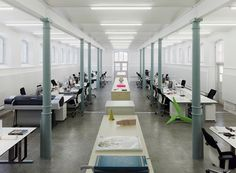 creative spaces of Modern and Creative Office Interior in Classic Building