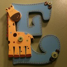 Nursery Letters by LilysLetters on Etsy, $16.00 *Cute/ Dr.Seuss Letters 4 Twins bday*