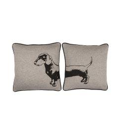 Dog Head & Tail Cushions