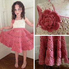 Crochet For Children: Little Girl Vintage Dress Free Pattern