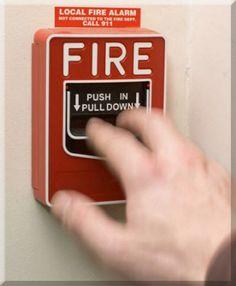 Unique Fire Alarm Pics