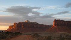 Rock Climbing Photo: Sunset at Indian Creek