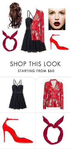 """""""Love me not"""" by marebear-737 ❤ liked on Polyvore featuring Hollister Co., Alexander McQueen, Aquazzura and yunotme"""
