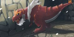 One of the new Fossil Pokemon featured in Pokemon X and Y. XD After so many years, my childhood dreams have come true! A Tyrannosaurus rex Pokemon from Fossil FTW! Pokemon X And Y, Pokemon Memes, Pokemon Fan Art, Cool Pokemon, Pokemon Realistic, Pokemon Team, Pokemon Stuff, Tyrantrum Pokemon, Kalos Pokemon