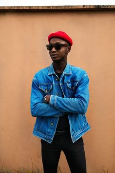 Asubtle sense of hipster style took overLagos Fashion & Design Week street style.... - Casual Street Style